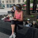 Urban Watercolor Sketching Experience Guest at the Tribune Tower