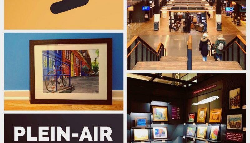 Plein Air Pop Up Exhibit at Navy Pier