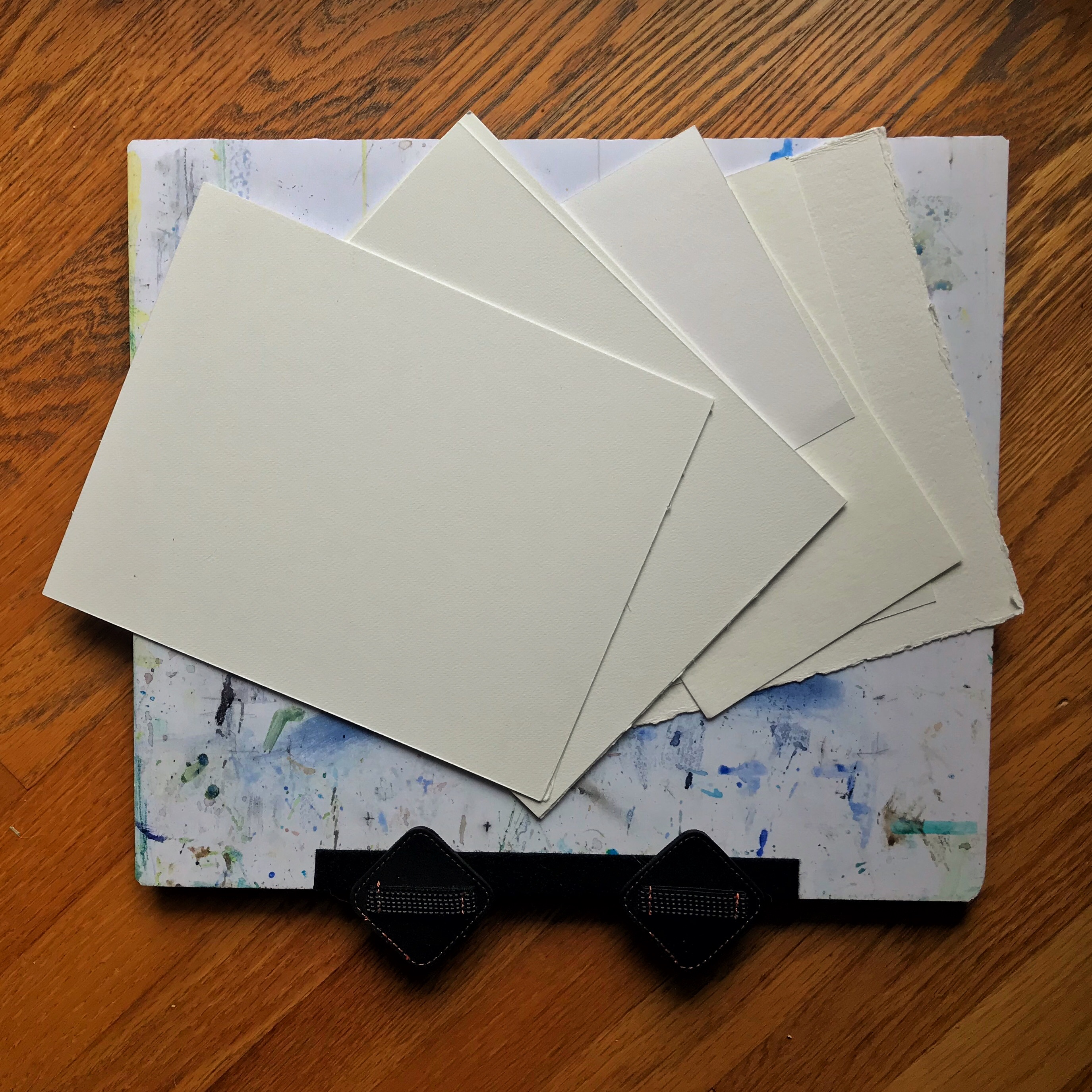 Watercolor paper and art boards