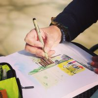 Urban Sketching Chicago