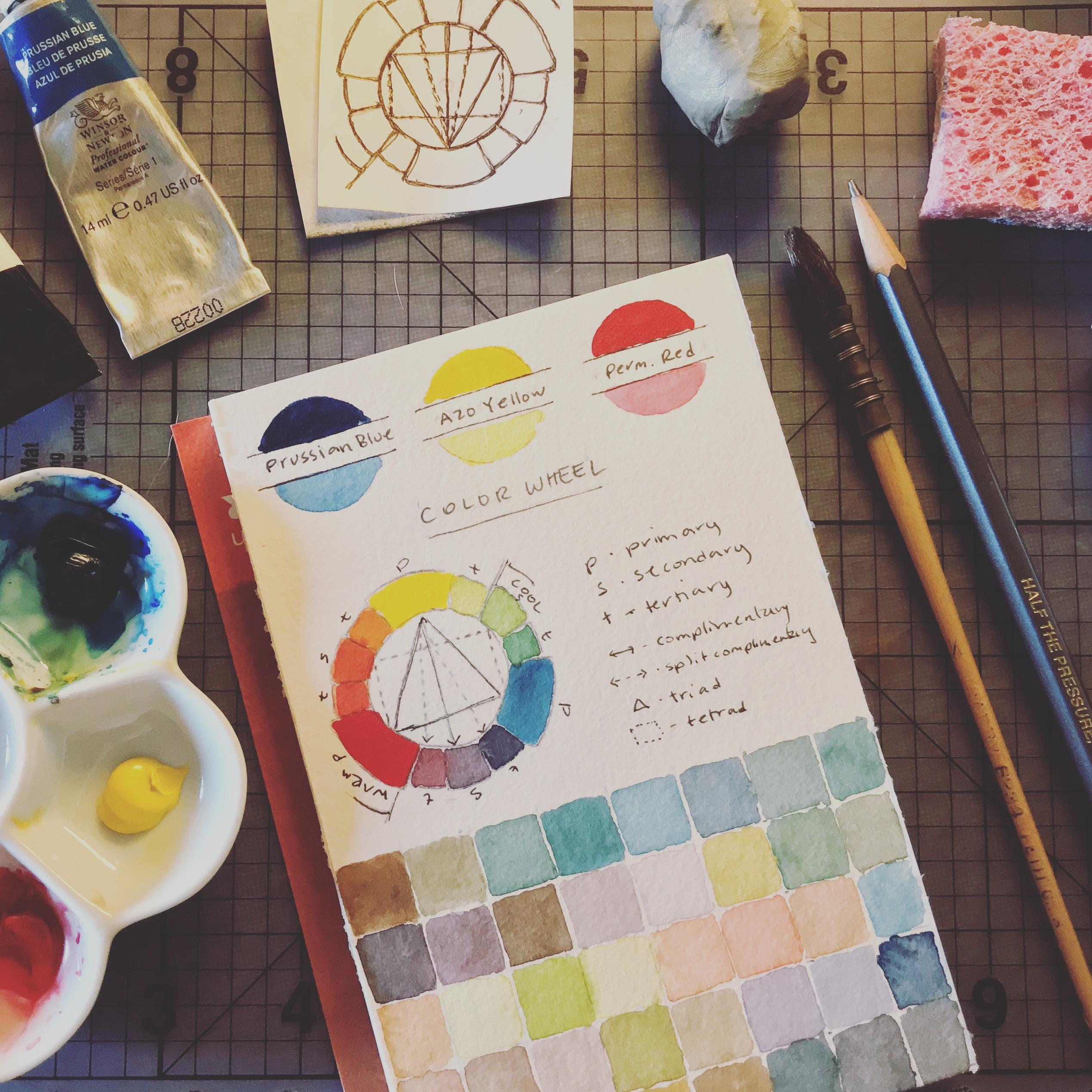 Building my color palette