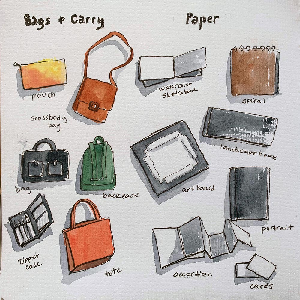Sketch Chicago - Urban Sketching Supplies