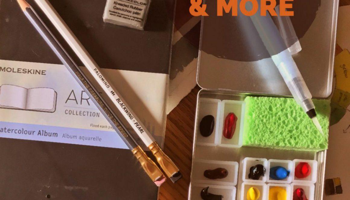 Giveaway - Premium Watercolor Sketch Kit