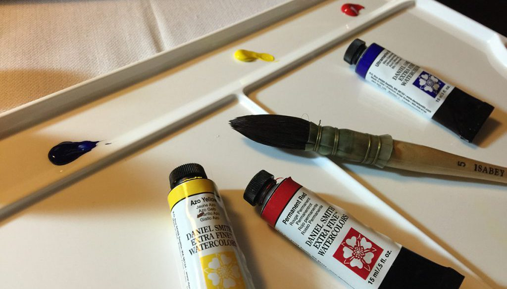 Painting Watercolors - Basic Supplies