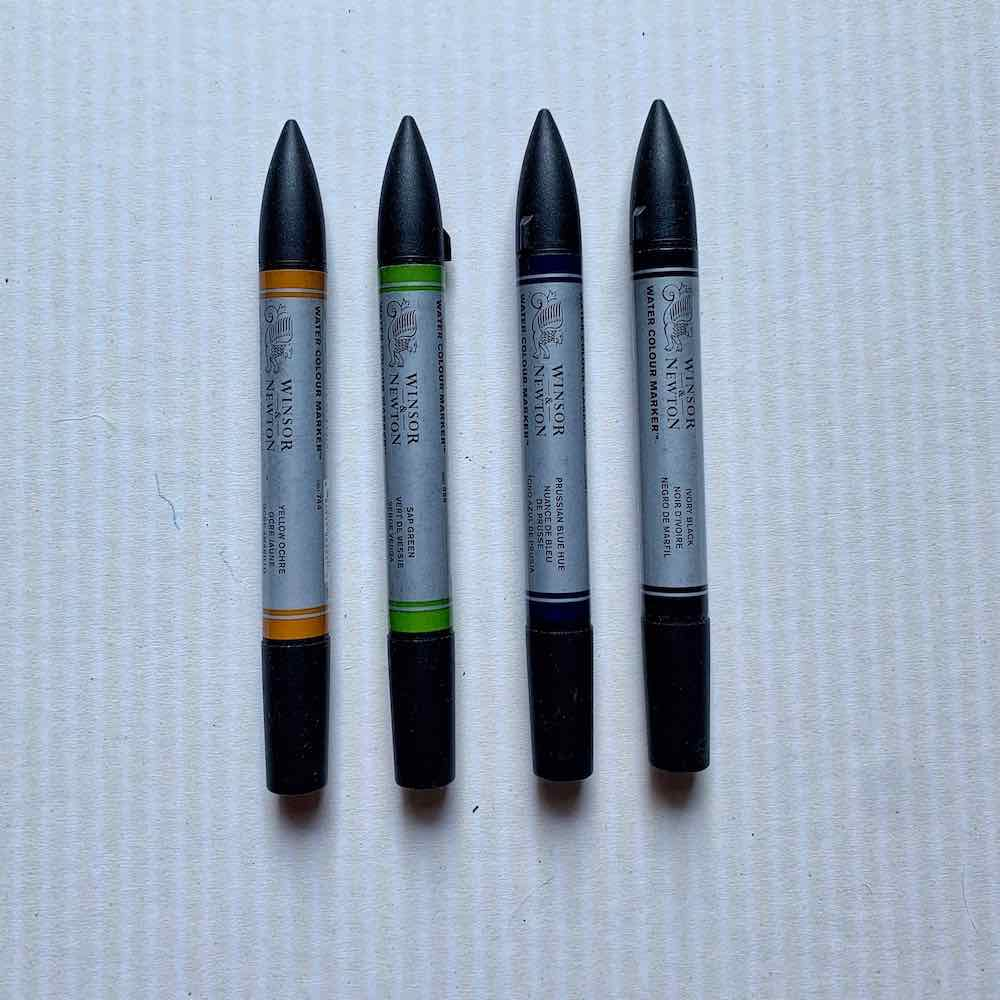 winsor newton watercolor markers
