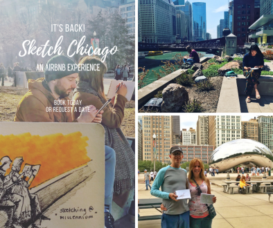 Sketch Chicago An AirBnb Experience
